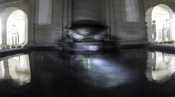The LSU fountain