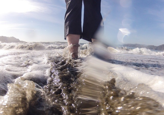 Reveries and elegies - go-pro baker beach
